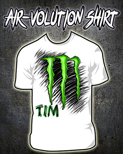Personalized Airbrushed M Logo Shirt ()