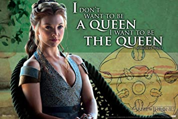 Game of Thrones Lady Olenna Tyrell quote Typography artwork print poster GOT TV