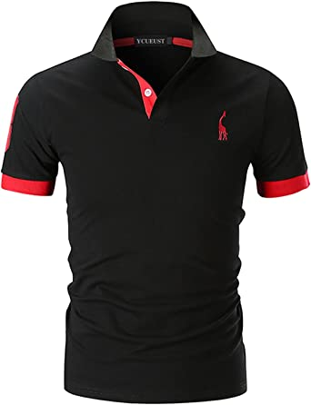 UEFA Herren England Polo Shirt Polohemd Kurzarm Bequem Sitzend Extra Leicht