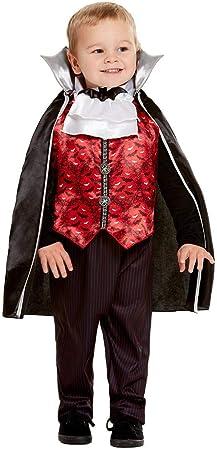 Smiffys 50798T2 - Disfraz de vampiro para niños (3-4 años), color ...