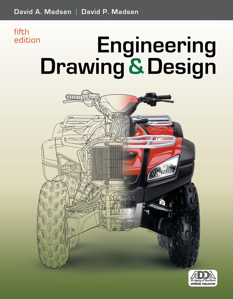 Engineering drawing and design book only david a emeritus engineering drawing and design book only david a emeritus madsen madsen 9781111321833 books amazon fandeluxe Choice Image