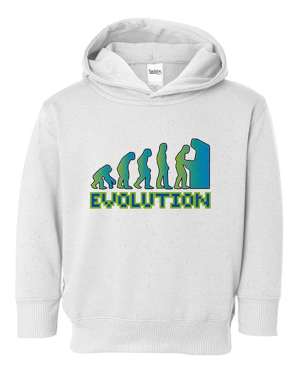 Societee Gamer Evolution Girls Boys Toddler Hooded Sweatshirt