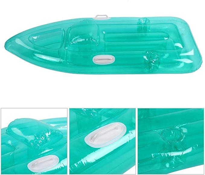 Amazon.com: Colchón inflable para piscina, flotador para ...