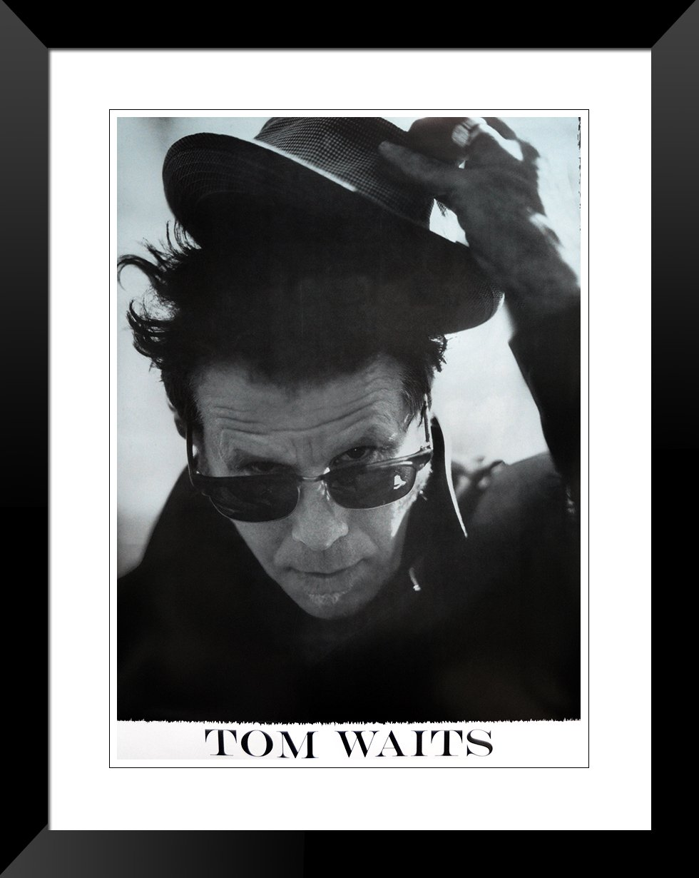 Tom waits Hat poster (plaket) Mini ca. 16.5 \