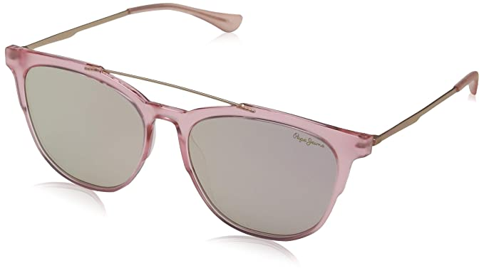 Pepe Jeans Joshua Gafas de Sol, Rosa (Pink/Grey), 55.0 ...