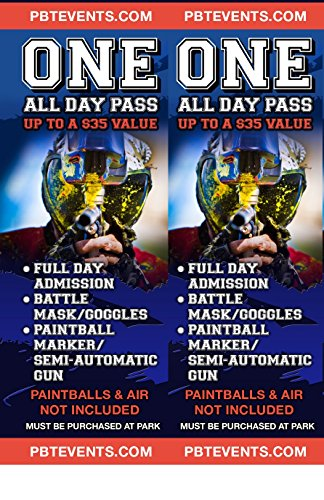 Paintball Tickets (Ball Ticket)