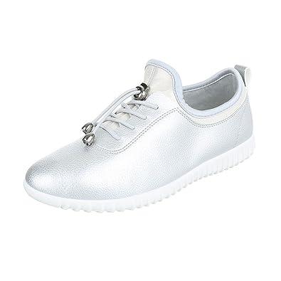 Sportschuhe Damen Schuhe Geschlossen Sneakers Schnürsenkel