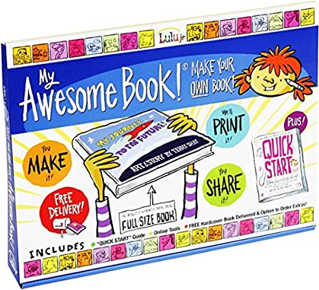 amazon com my awesome book create write and illustrate your own