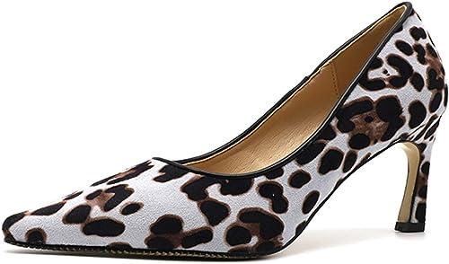 leopard print closed toe heels