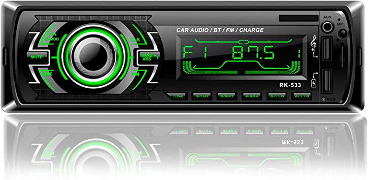 Honboom Autoradio Bluetooth 4x60w 1 Din Autoradio Fm Elektronik