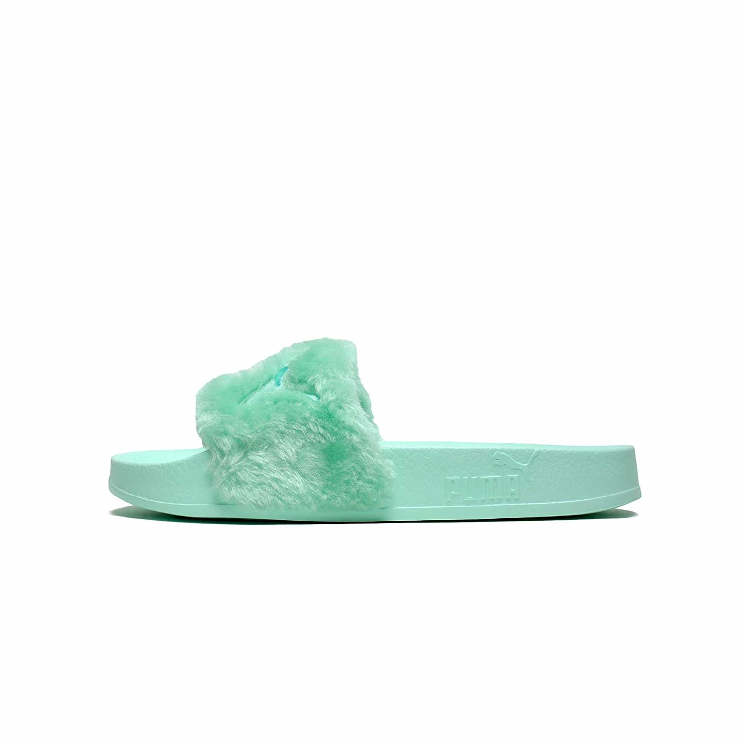 size 40 916cd e6e72 PUMA Women's Fenty x Faux Fur Slides