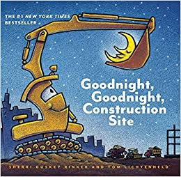 Amazoncom Goodnight Goodnight Construction Site Board Book For