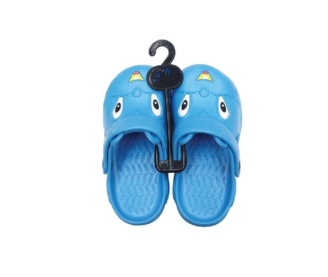 Children's All-Weather Novelty Animal Clogs Toddler Thru Little Kid Sizes (10, Blue)