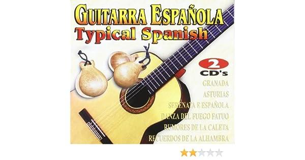 Guitarra Espanola - Typical Spanish: Various: Amazon.es: Música