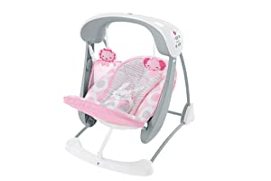 Fisher Price Deluxe Take Along Swing & Seat
