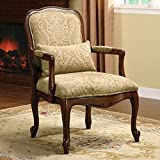 247SHOPATHOME IDF-AC6980 Armchairs, Brown