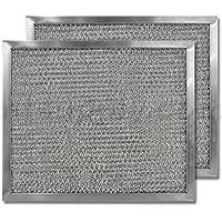 American Metal Aluminum Range Hood Filter - 8 X 9-1/2 X 3/8