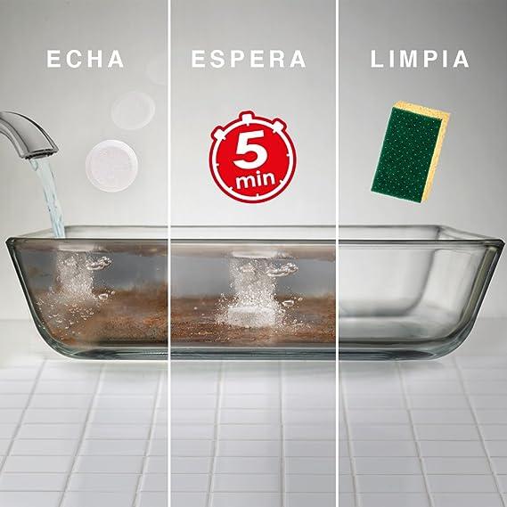 Spontex Lavavajillas a Mano Desincrustante - 15 Pastillas: Amazon.es: Salud y cuidado personal