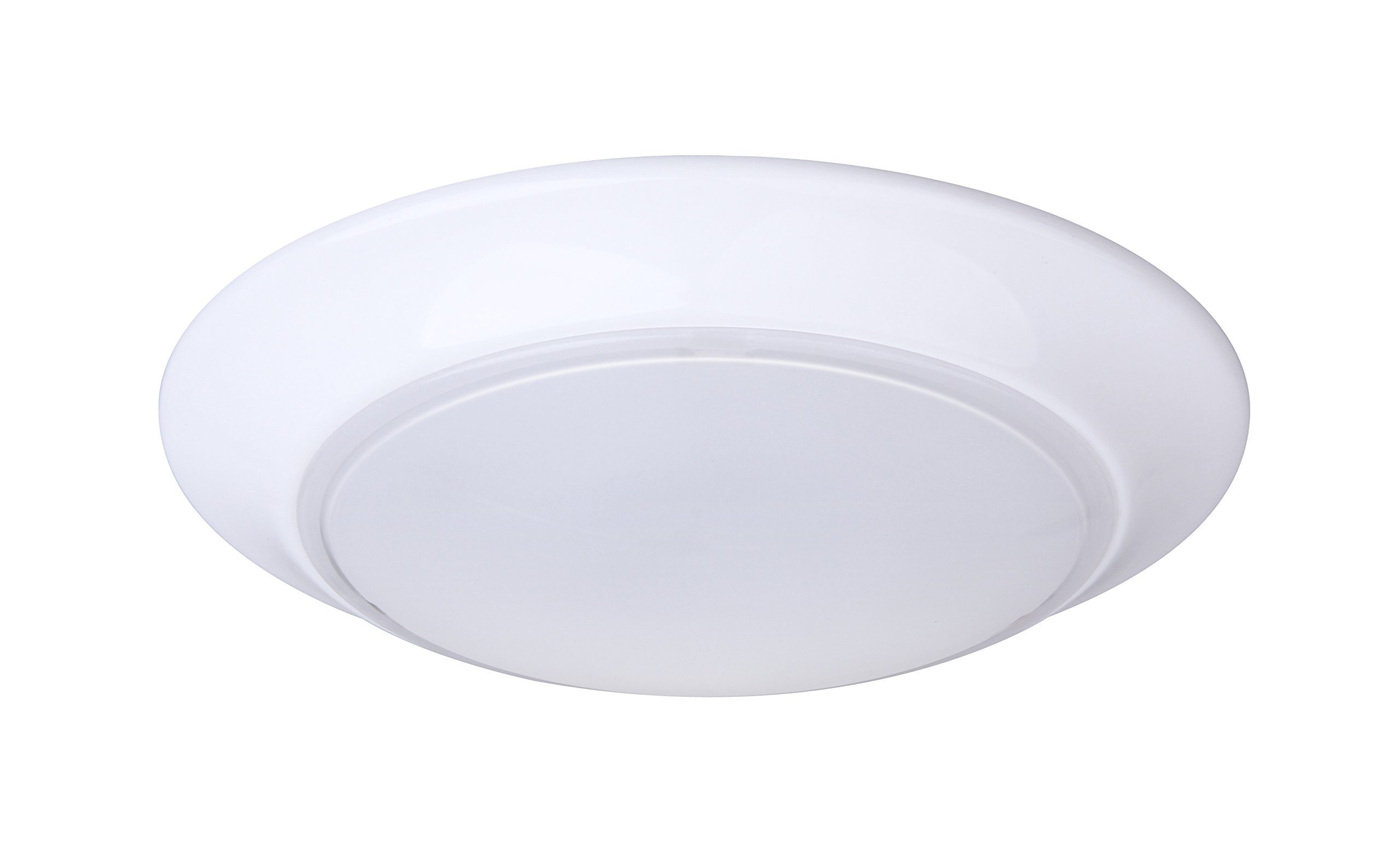 Lit-Path 7.5 inch LED Flush Mount Ceiling Lighting Fixture, 11.5W (75W Equivalent), Dimmable, 800 Lumen, ETL and ES Qualified