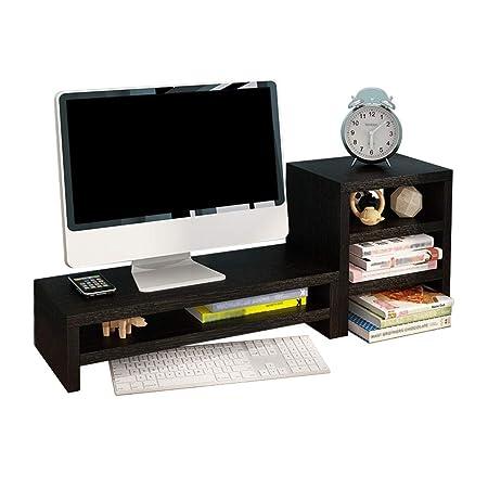 Soporte Monitor Soporte Para Monitor con Almacenamiento De ...