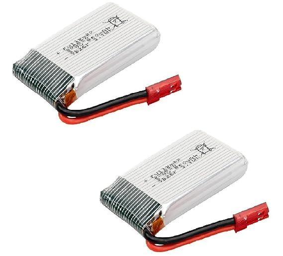 YUNIQUE Espagne ® 2 Piezas Repuestos de Batería de Litio 3.7V ...
