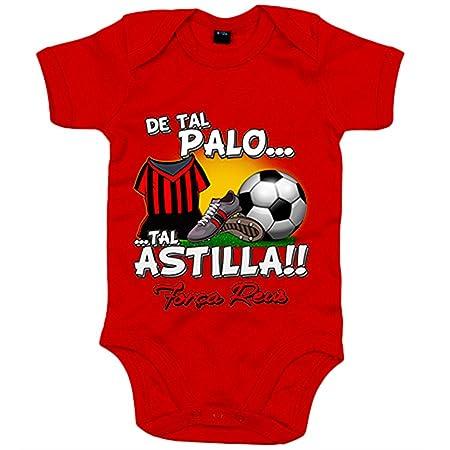 Body bebé de tal palo tal astilla Reus fútbol - Amarillo, 6 ...