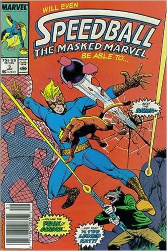Speedball The Masked Marvel #5 : Beware the Basher (Marvel Comics)