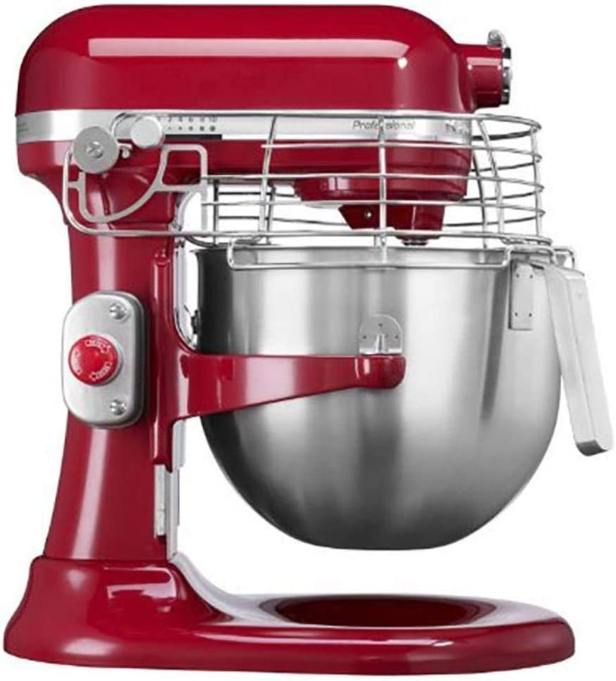KitchenAid 5KSM7990XEER - Robot de cocina (Rojo, Metal): Amazon.es ...