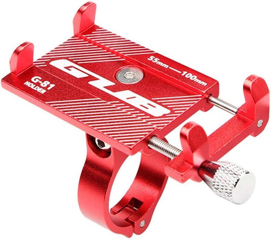 Aluminiumlegierung Fahrradhalterung aus Aluminiumlegierung mit 360 /° -Drehung einstellbar f/ür iPhone X XR Xs 7s 8 Plus Samsung S7 // S6 // Note5 // 4 GPS-Halterung 4 Fahrrad- /& Motorradhalterung