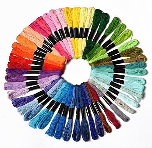 50 Skeins Embroidery Floss Mega Pack embroidery thread Appro