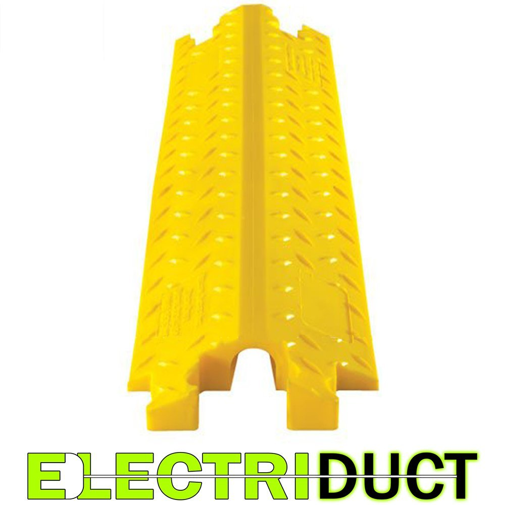 The DO-MAX Single Channel Cable Protector (Yellow) | 3 Units