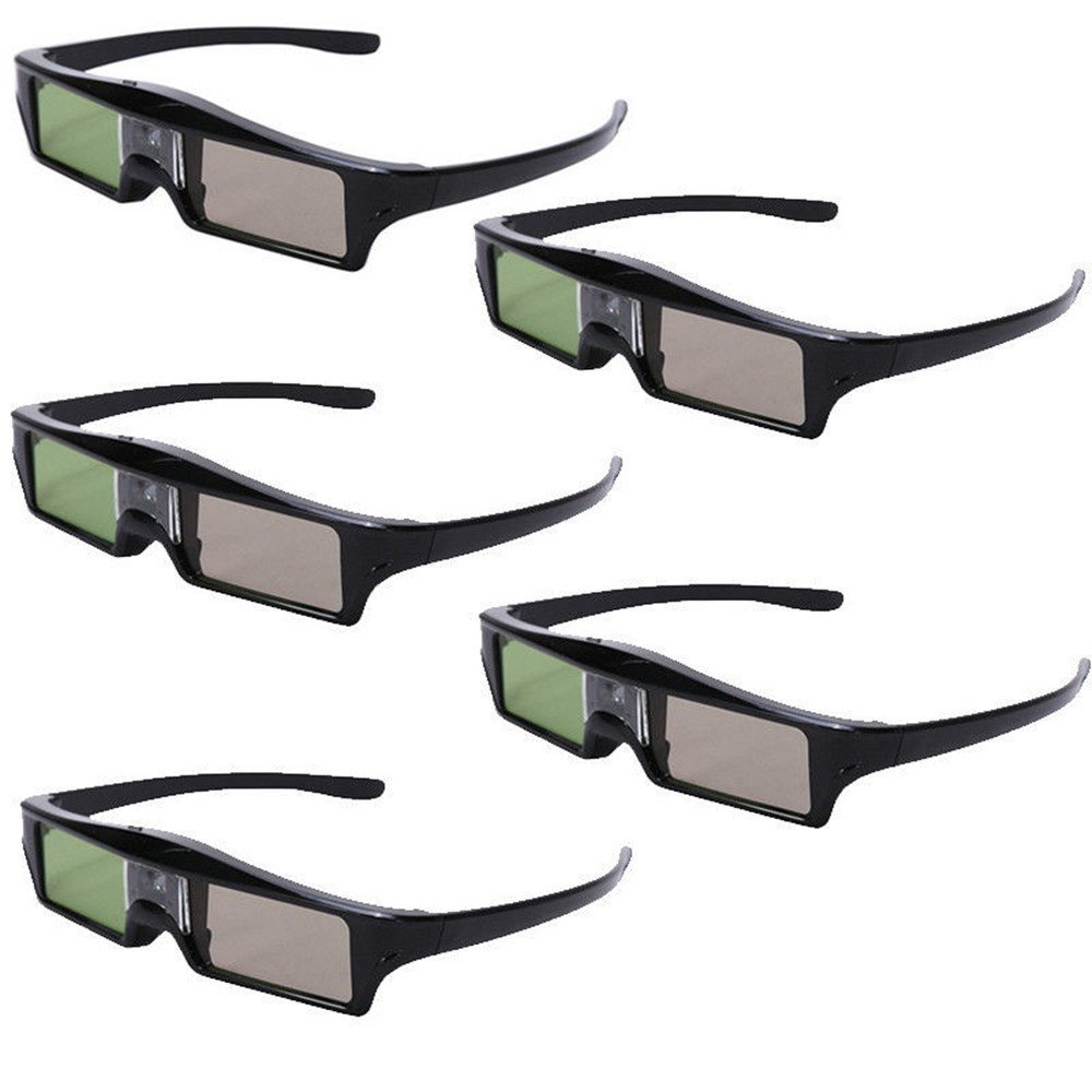 Seesii RF Bluetooth Active Shutter 3D Glasses For Epson 3020 3020E 5020 Projecotor KX60 With Key Chain LYSB01F8KRS4M-ELECTRNCS