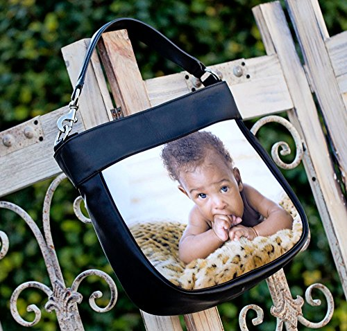 Back Personalized Hobo Front Leather Trim w Pinata Birthday amp; Purse Genuine zUvq4C4x