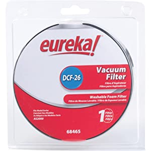 Eureka DCF-26 Genuine Washable Foam Filter 68465a