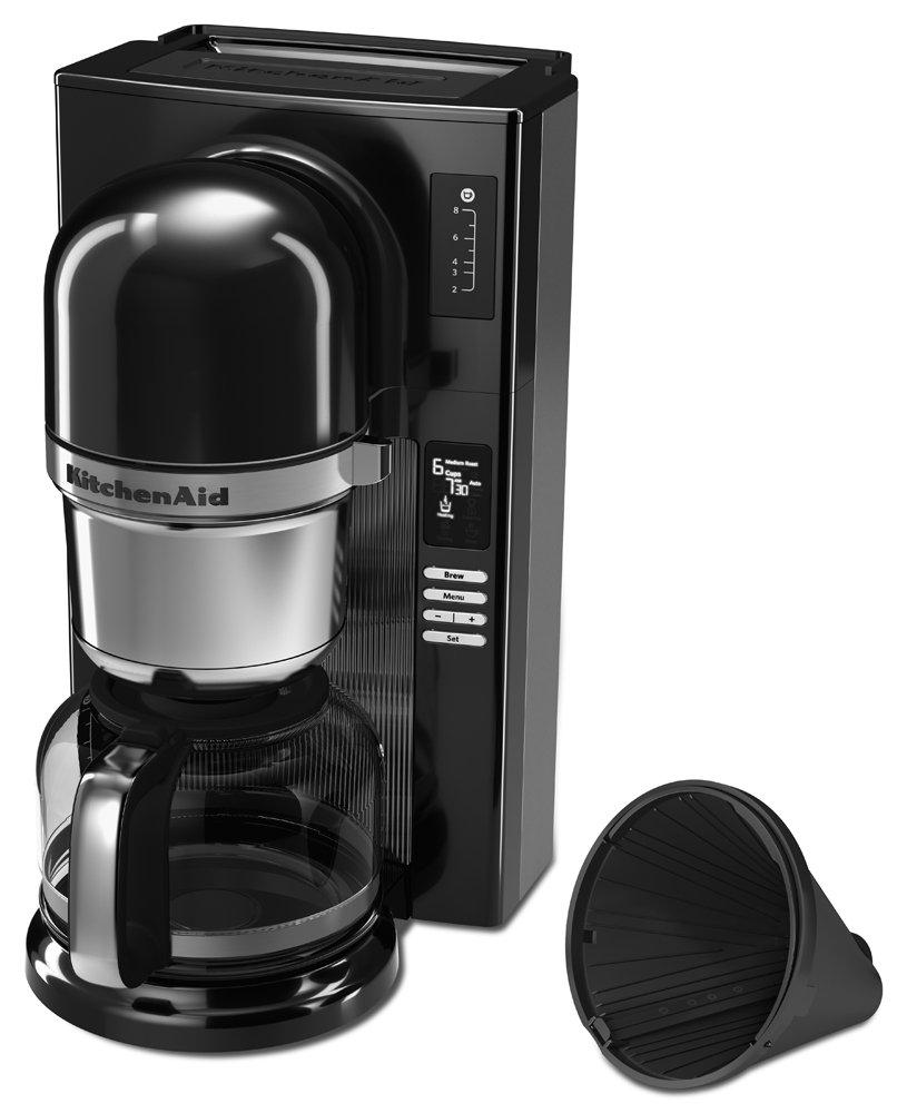 KitchenAid KCM0802OB Pour Over Coffee Brewer Onyx Black