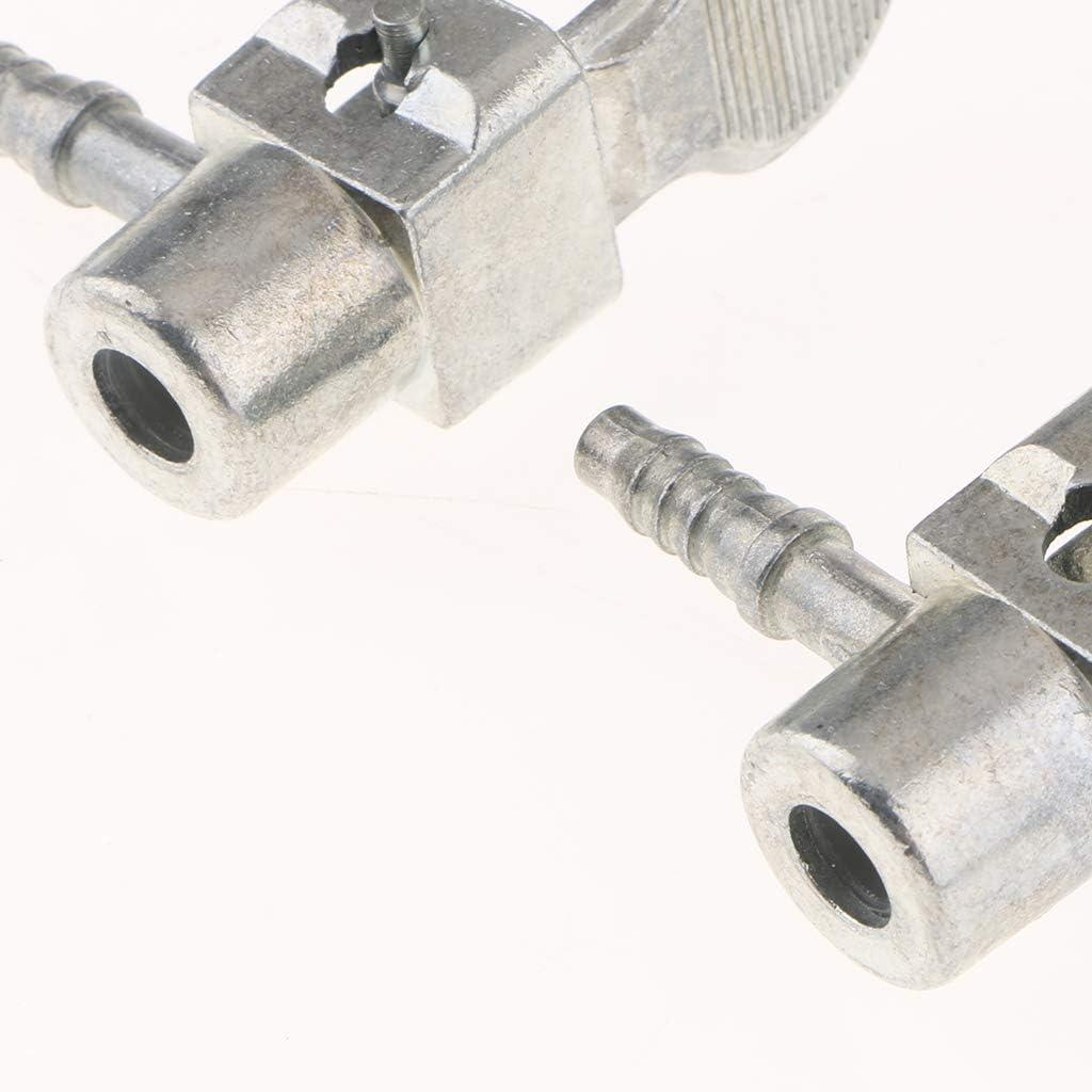 2x Fahrzeuge Messing 0 32 Reifen Rad Reifenluftspannfutter Luftkompressor Pumpe Ventil Clip Clamp Stecker Adapter Auto