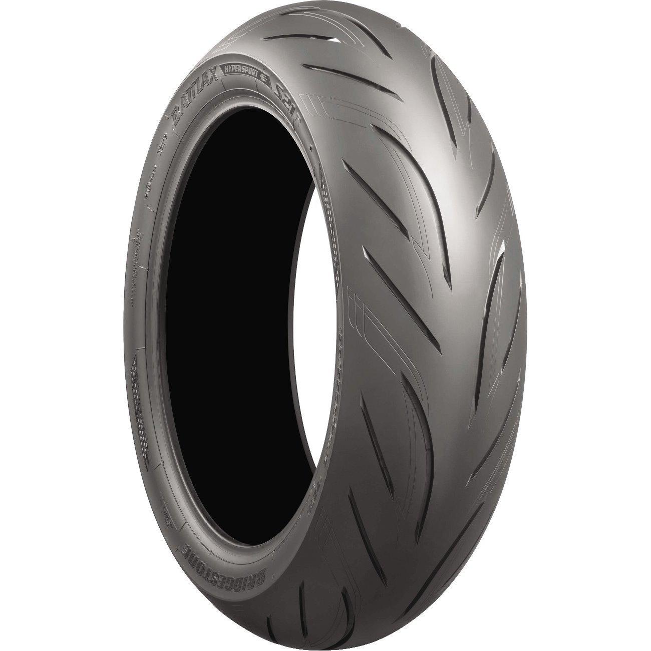 BRIDGESTONE Battlax S21 Hypersport Street Front & Rear Tire Set, 120/70-17 58W & 180/55-17 73W by Bridgestone (Image #2)