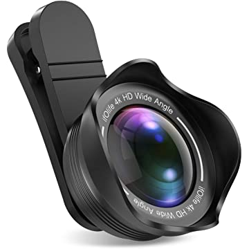 Phone-Camera-Lens-iPhone-Lens, 2 in 1 Lens Kit 0.6X Wide Angle Lens, 20X Macro Lens for iPhone, Pixel, Samsung Galaxy, Android