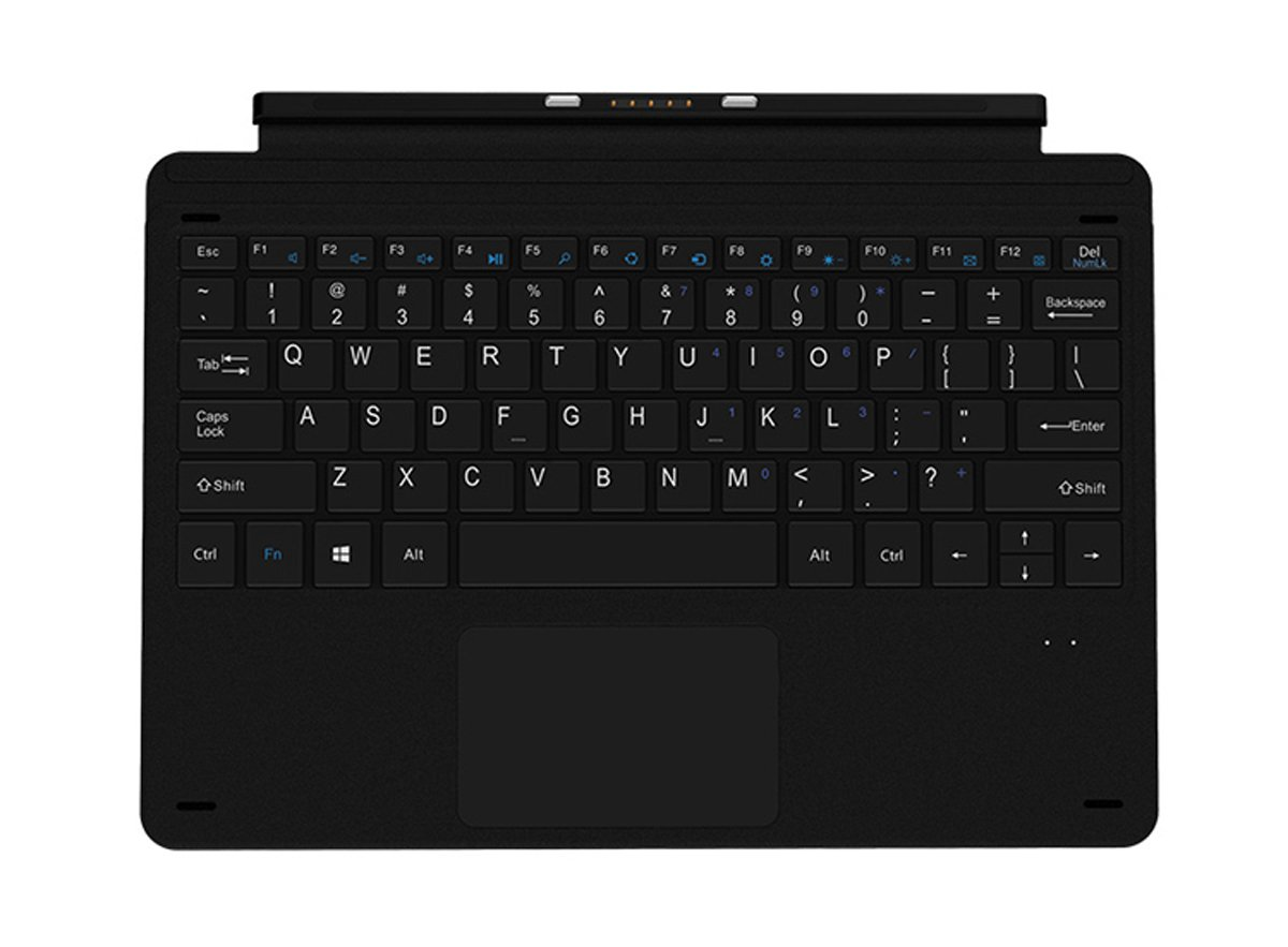 Magnetic Docking keyboard for CHUWI Surbook Mini 10.8'' Tablet PC