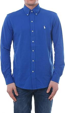 Camisa Polo Ralph Lauren De Piqué Vaporosa Azul para Hombre S Azul ...