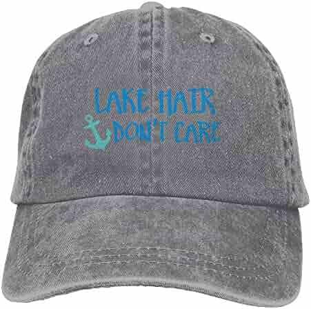 e3f641fcf4647 Buyiyang 01 Men s Or Women s Lake Hair Don t Care Denim Jeanet Baseball Hat
