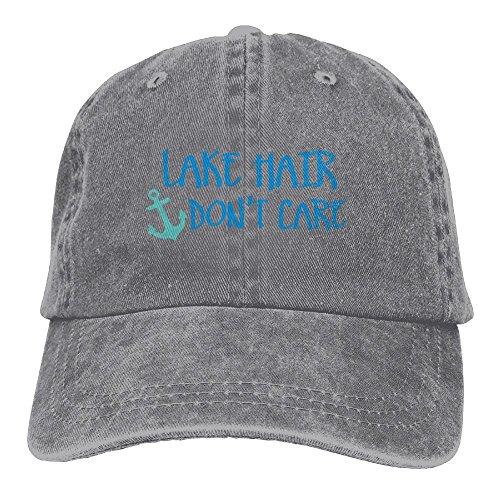 Buyiyang-01 Men's Or Women's Lake Hair Don't Care Denim Jeanet Baseball Hat Adjustable Street Rapper Hat]()