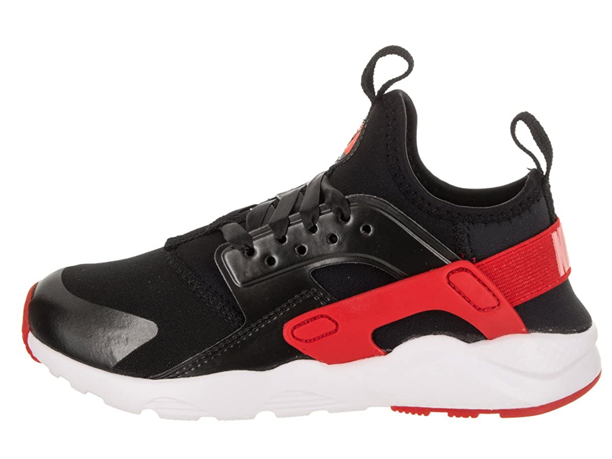 super popular b4704 355ed Nike Kids Huarache Run Ultra QS (PS) BlackSpeed Red Bleached Coral Running  Shoe 11 Kids US Amazon.co.uk Shoes  Bags