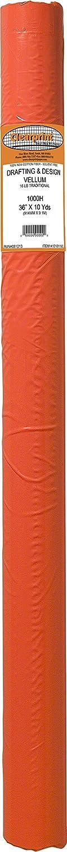 Clearprint 1000H Design Vellum Roll 100/% Cotton 16 lb. 10101140 30 Inches W x 50 Yards Long 1 Each