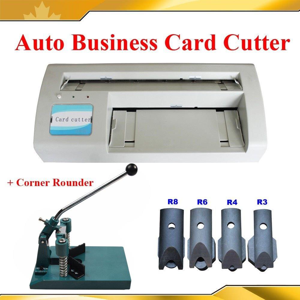 Amazon.com : Electric Business Card Slitter +Corner Rounder Machine ...