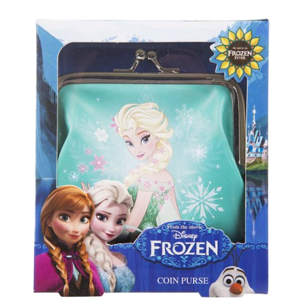 Genuine Disney Frozen 'Elsa' PVC Coin Purse Gift Boxed BB Designs PRR03148