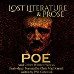Poe: Lost Literature & Prose | P. M. Cartawick