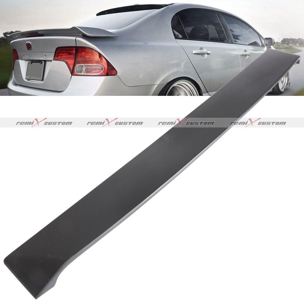 For 94-97 Honda Accord Sedan Black ABS Plastic Rear Roof Window Visor Spoiler