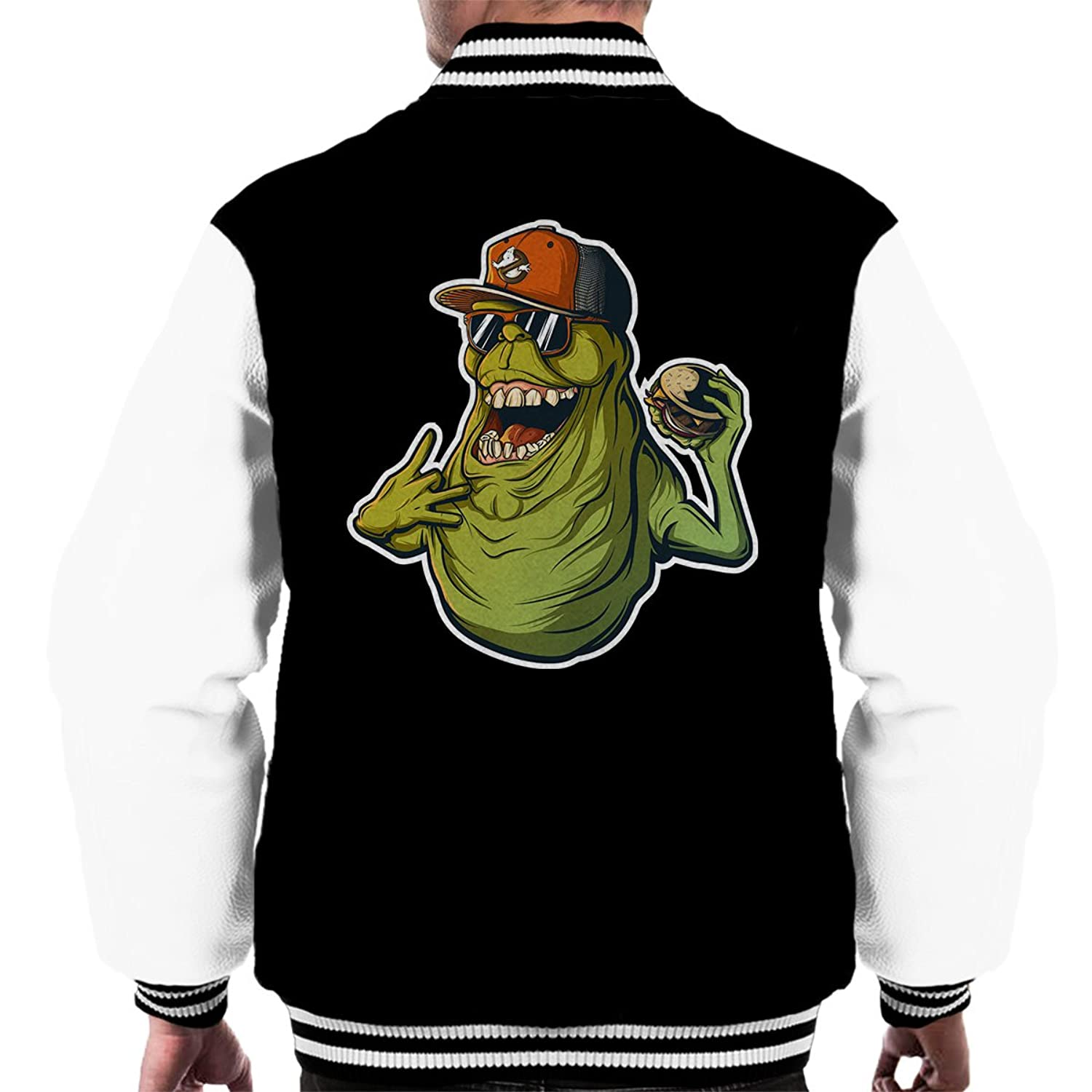 Slimer Life Ghostbusters Men's Varsity Jacket