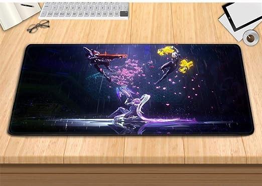 shuoshiliujin Alfombrilla de ratón Juego de Teclado de Anime de Gran tamaño tapete de Mesa, Caza Wei Wei 800X300X3MM: Amazon.es: Hogar